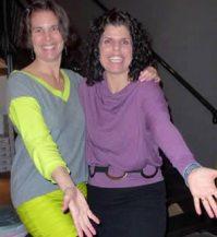 Nadne & Jen goofing at Switch
