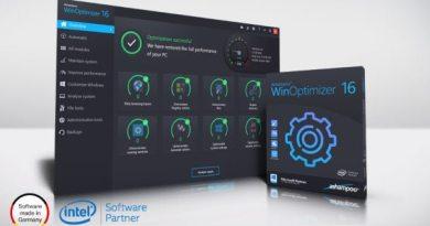 Ashampoo WinOptimizer 16 License Key Serial Free Download 2019