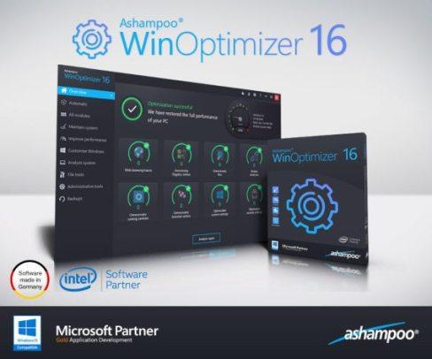 Ashampoo WinOptimizer 16 License Key for Free 2020 Download