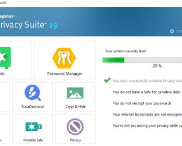 Steganos Privacy Suite 19 Serial License Key Free Download