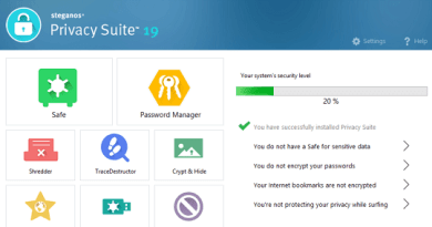 Steganos Privacy Suite 19 Serial License Key Free Download