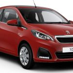2015 Peugeot 108 Red