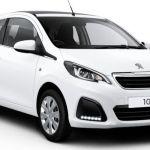 2015 Peugeot 108 White