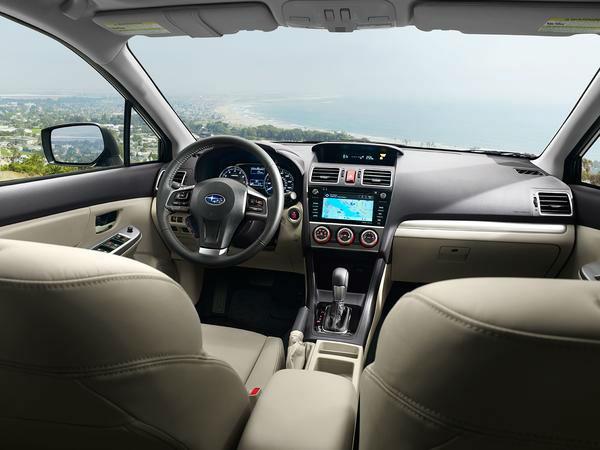 2015 Subaru Impreza Sport Interior