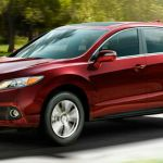 2015 Acura MDX Red