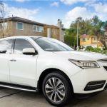 2015 Acura MDX White