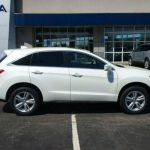 2015 Acura RDX White