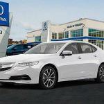 2015 Acura TL White