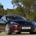 2015 Aston Martin Rapide S Amethyst Red