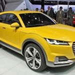 2015 Audi TTS Yellow