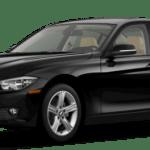 2015 BMW 3 Series Sedan Black