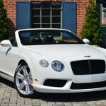2015 Bentley Continental GT Convertible White