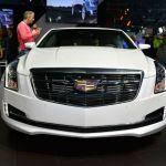 2015 Cadillac ATS White Facelift