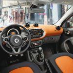 2016 Smart Car Interior