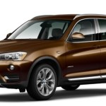 BMW X3 2017 Colors