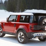 Land Rover Defender Replacement 2018