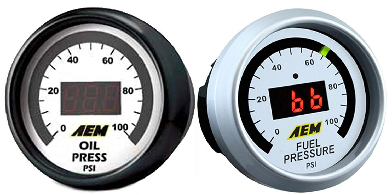 Equus 8164 15 Electric Oil Pressure Gauge Kit Christmas Decoration Fuel