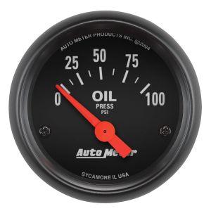 Auto Meter 2634 Z-Series Electric Oil Pressure Gauge