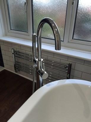 Bathroom West End - Floor Mount Tap