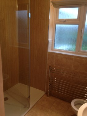 Shower Wall Boards - Not Tiles
