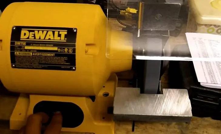 The Dewalt Dw758 8 Inch Bench Grinder Topbenchgrinders Com