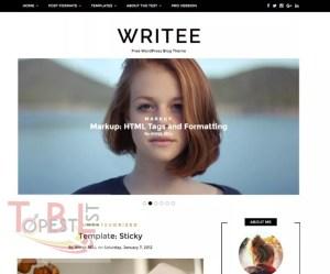 fastest WordPress Theme Writee