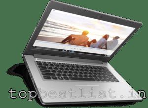 top Budget laptops India 2017 list
