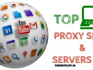 350+ proxy server/websites 2018