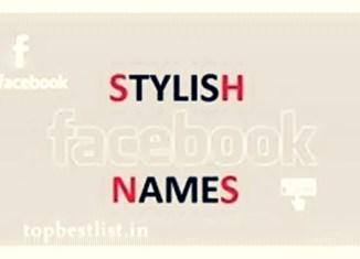 stylish name facebook