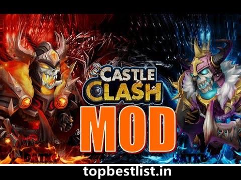 castle clash hacked version apk Android