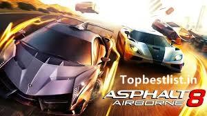 Asphalt 8 airborne mod apk unlimited coins