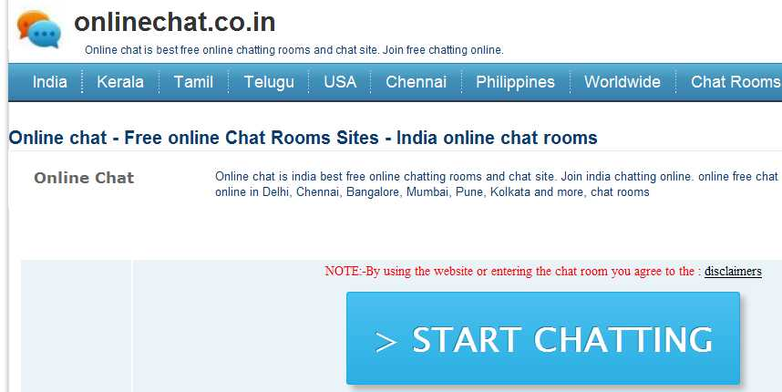 Adult chat room sites
