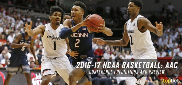 2016-17 AAC College Basketball Predictions, Picks & Preview