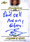 """Leaf Brian Gray """"Dont sell me on Ebay"""" Signed 2015 Legends of Sport Insc. Car"""