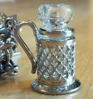 Glass Stein Charm ~THIS IS THE ONLY ONE SELLING ON EBAY Sterling-S