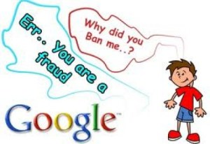 I've Been Slapped by Google: Adsense Disabled
