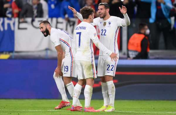 Match belgium vs france 2:3 in the uefa nations league (10/07/2021): PIX: France fight back to beat Belgium; set up final vs ...