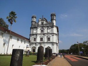 Portuguese architecture in Goa India