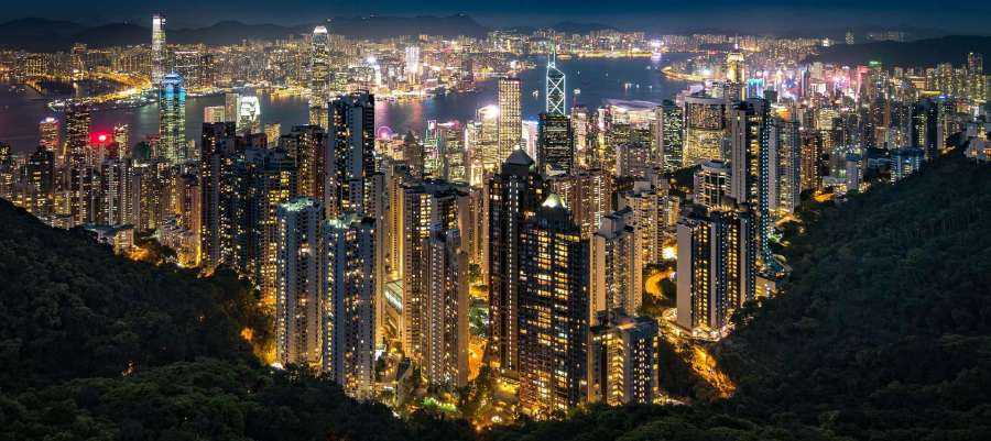 Overview of Hong Kong in china
