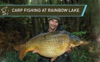 Carp fishing at Rainbow lake