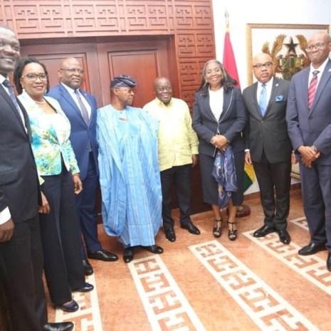 FBN Holdings, First Bank-Ghana Call On President Akufo-Addo