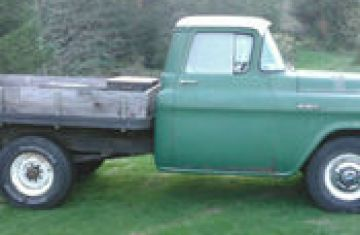 1956 Chevy 4X4 Flatbed | Bed Linen Gallery