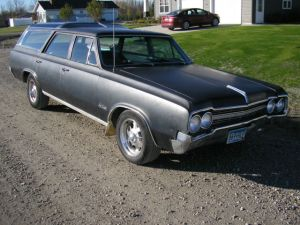 1965 OLDSMOBILE F85 VISTA CRUISER STATION WAGON NOT CUTLESS 442 RARE for sale: photos, technical
