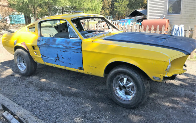1967 mustang fastback gt 390 4 speed project $45 (sfo > 1967 Mustang Fastback Project Roller New Metal Fast Back 68 Fold Down Back Seat For Sale Photos Technical Specifications Description