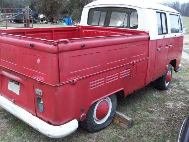 1968 volkswagen double cab truck for sale: photos ...