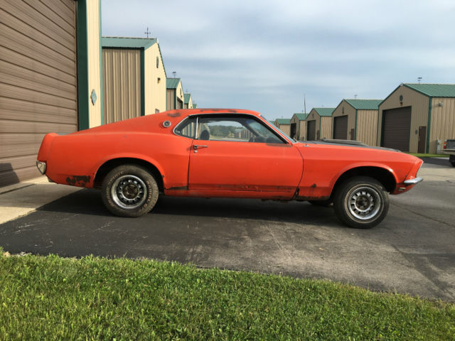 Learn more about the 1969 ford mustang mach 1. 1969 Mustang Fastback Project Car For Sale Photos Technical Specifications Description