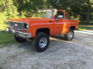 1973 Chevy K5 Blazer owned by former NFL Player for sale