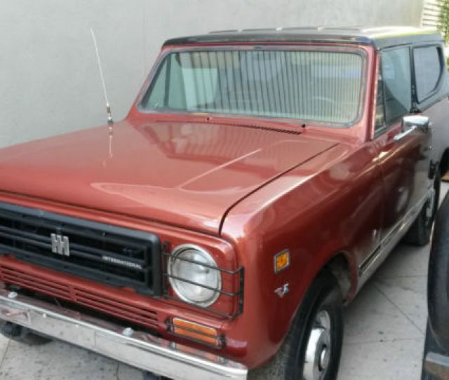 1978 International Harvester Scout Ii Convertible Jeep Truck 4x4 No Reserve