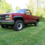 1988 Gm Chevy K3500 1 Ton Silverado 4x4 454 Big Block Th400 Dana 70 8 Bed For Sale Photos Technical Specifications Description