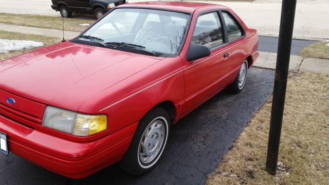 1994 Ford Tempo 2dr 37k Mi Clean Interior